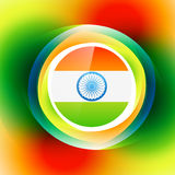 Colorful indian background Stock Image