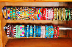 Colorful Indian bangles Stock Photo