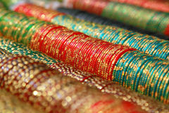 Colorful Indian bangles Royalty Free Stock Image