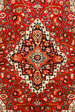Colorful indian carpet Stock Photos