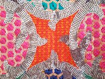 Colorful indian crafts pattern Royalty Free Stock Photo