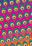 Colorful Indian pattern Stock Images
