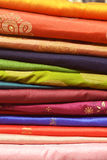 Colorful Indian Saree Royalty Free Stock Photography