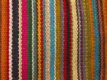 Colorful indian style rug Royalty Free Stock Photos