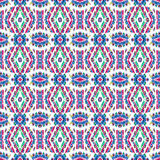 Colorful Indian Style Seamless Pattern Stock Photography