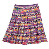 Colorful indian style  skirt Stock Photo