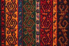 Colorful Indian textile royalty free stock images