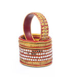 Colorful Indian Traditional Bangles Stock Photo