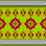Colorful Indian tribal seamless pattern. In vector Stock Photo