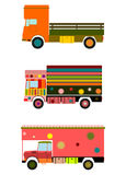 Colorful indian truck. Royalty Free Stock Photos