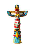 Colorful indigenous idol Royalty Free Stock Photography