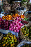 Colorful Indonesian Market Stock Photo