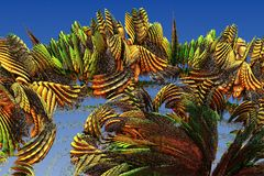 Colorful infinite fractal stock photos