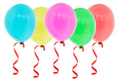 Colorful inflatable balloons Royalty Free Stock Photos