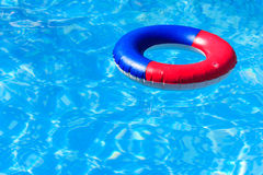 A colorful inflatable ring Stock Images