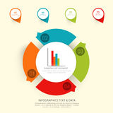 Colorful infographic elements for Business. Creative colorful infographic elements for your Business reports and presentations Royalty Free Stock Photography