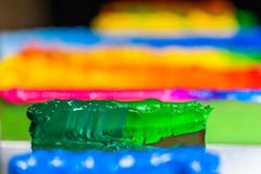 colorful of ink for print tee shirt Royalty Free Stock Photos
