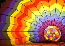 Colorful Inside Hot Air Balloon