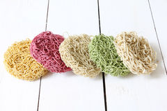 Colorful Instant noodle Royalty Free Stock Image
