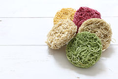 Colorful Instant noodle Royalty Free Stock Photography