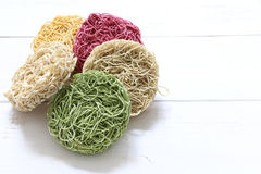 Colorful Instant noodle Stock Images