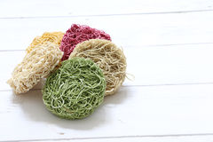 Colorful Instant noodle Royalty Free Stock Images