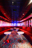 Colorful interior bar Stock Images