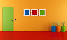 Colorful interior Stock Photo