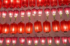 Colorful international lanterns Stock Image