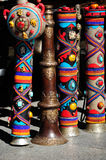 Colorful and Intricated Handcrafts Royalty Free Stock Photos