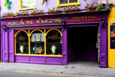 Colorful Irish Pub Stock Images