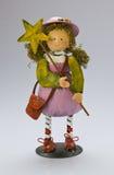 Colorful ironwork doll Stock Photo