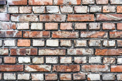 Colorful irregular brick wall texture or background Royalty Free Stock Photo