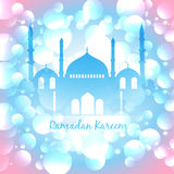 Colorful islamic background Stock Photo