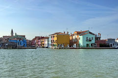 Colorful island Burano, near Venice, Italy Royalty Free Stock Photography