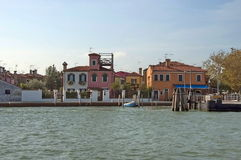 Colorful island Burano, near Venice, Italy Stock Photo