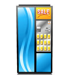 Colorful Isolated Vending Machine Stock Image
