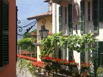 Colorful Italian Building  Royalty Free Stock Photo