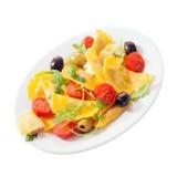 Colorful Italian ravioli salad Royalty Free Stock Photos