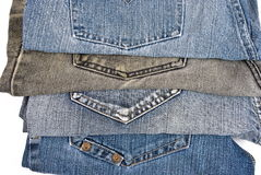 Colorful jeans Royalty Free Stock Photography