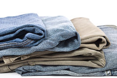 Colorful jeans Royalty Free Stock Photo