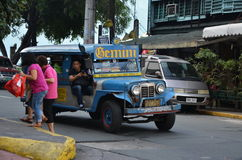 Colorful Jeepney in Manila Royalty Free Stock Photography