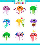 Colorful Jellies Royalty Free Stock Images