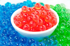 Colorful Jelly balls. Royalty Free Stock Photography