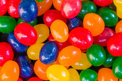 Jelly bean candies ready to eat Royalty Free Stock Image