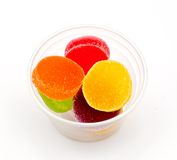 Colorful jelly candies. Stock Image