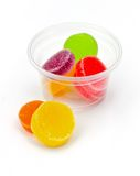 Colorful jelly candies. Royalty Free Stock Photo