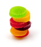 Colorful jelly candies. Stock Photos