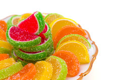 Colorful jelly candies Stock Photography