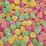 Colorful Jelly Candies Closeup Stock Photos